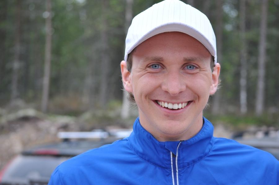 Johan Martinsson vann mixedklassen och fick äran att springa snabbt mellan Eldris och Mora. Grattis!