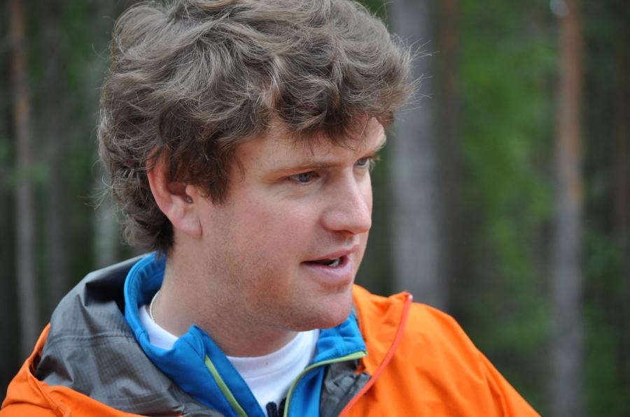 """Niklas """"Buckas"""" Jakobsson gillar att vara glad, vilket är kul"""