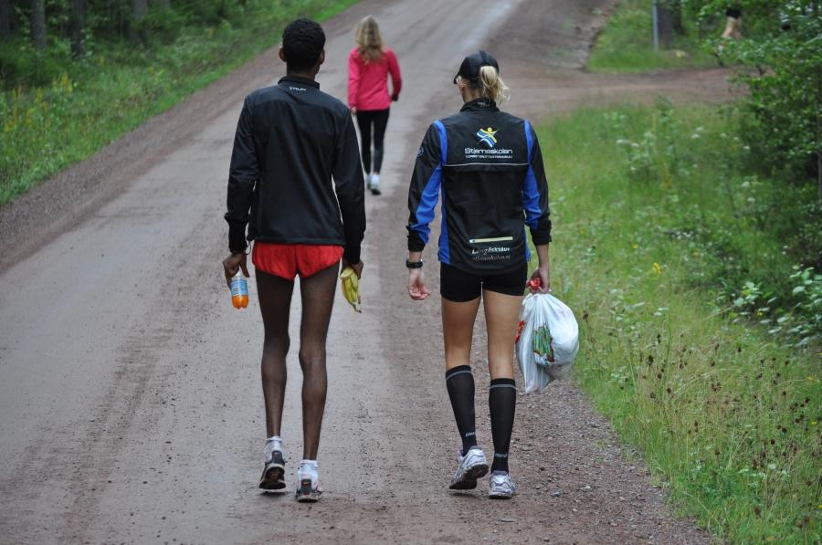 Afrikaner i VasaStafetten börjar bli vanligare och de är snabba som attans