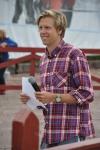 Adam Johansson, duktig speaker och skidåkare