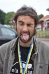 Dan-Eric Archer, aka Deca, var är kärt återseende. Vi var tidigare klubbisar i Sävedalen AIK.