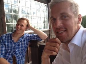 Martin Josefsson och Rickard Sohlin, två män som vet hur man ska se ut på bild