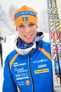 Sandra Hansson gjorde comeback i Swix Ski Classics idag efter att fått fjolårets säsong förstörd av sjukdom. Hon blev 4:a idag, bra kört.