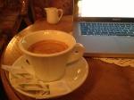Jag föredrar perkulatorbryggt kaffe, men i Italien blir det ofta sånt här istället.
