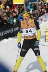 Anders Myrland och jag låg i samma klunga fram till ca 18 km. Han blev 28:a.