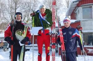 Ymerloppet 2010. Jag 1:a före Tobias Westman och Martin Josefsson. I år kommer jag inte till start.