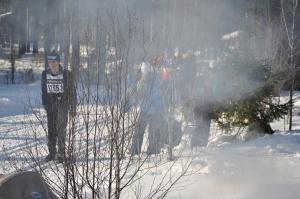 När Ida eldar minskar syret för skidåkare