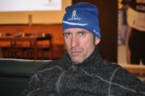 Roberto Vacchi i presscentret efter TjejVasan förra året.