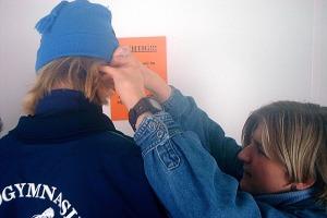 Blodprov (laktattest) dagen innan Engadin Skimarathon år 2001