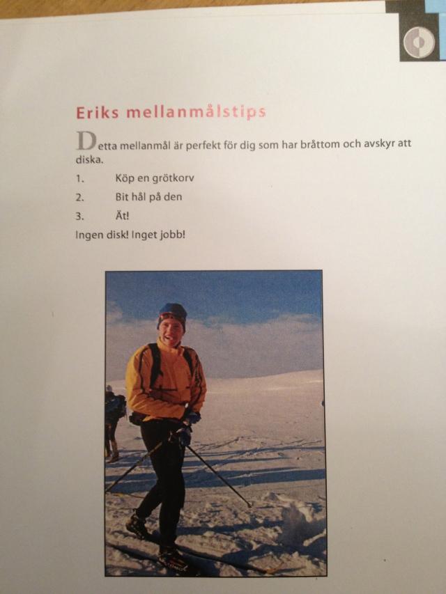 På Mora skidgymnasium tycker man bra kost är viktigt