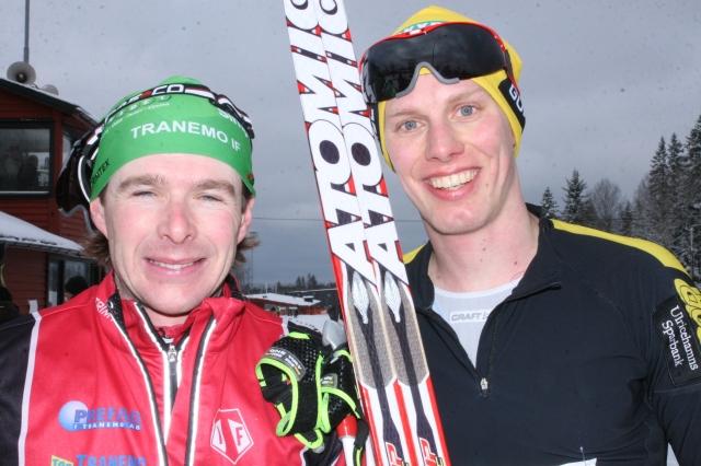 Markus Jönsson vann dagens Ulricehamnslopp 42 km K före en mycket nöjd konditionskonnässör
