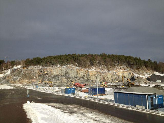 Skidhallen i Göteborg som det ser ut idag. 2015 är ju nästan i morgon!