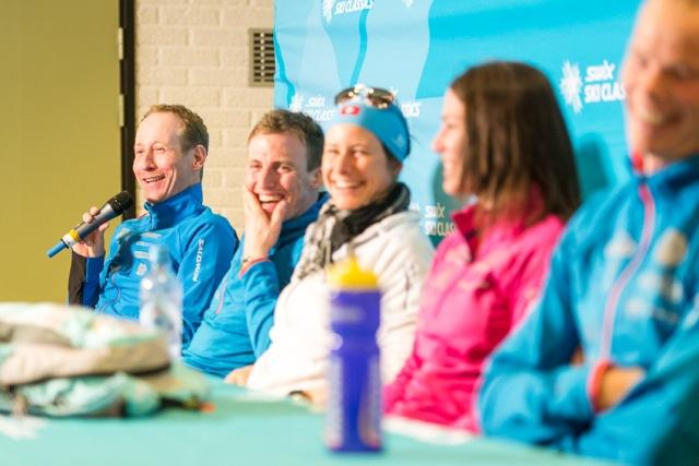 Bauer, Djupvik, Boner, Hansson, Bjerke i Team Coop