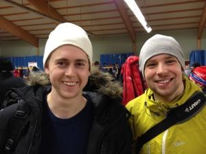 Pontus Rygh och Daniel Abrahamsson hade all anledning att smila idag