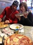 Z åkte med Ida, Astrid och mig och vi avnjöt en lunch på pizzerian i Kaxholmen. Det blev givetvis en Hawaii för mig.