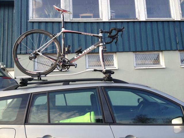 Cykelställ på