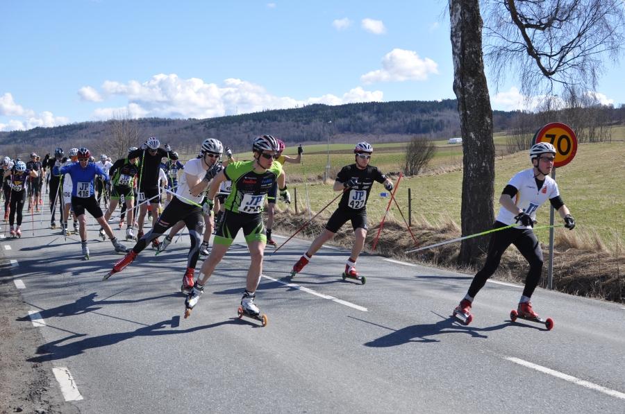 Gustaf Pettersson var startsnabb