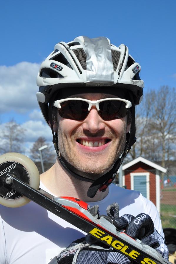Tobias Westman med dischjul och keramiska lager