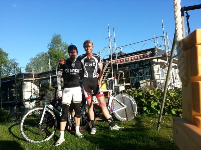 Mattias Lundqvist och jag