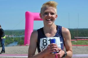 Cecilia Kleist vann damklassen