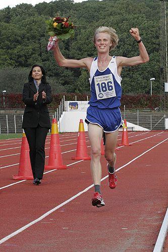 Göteborgs Marathon 2006 målgång. Foto: Bob Kail