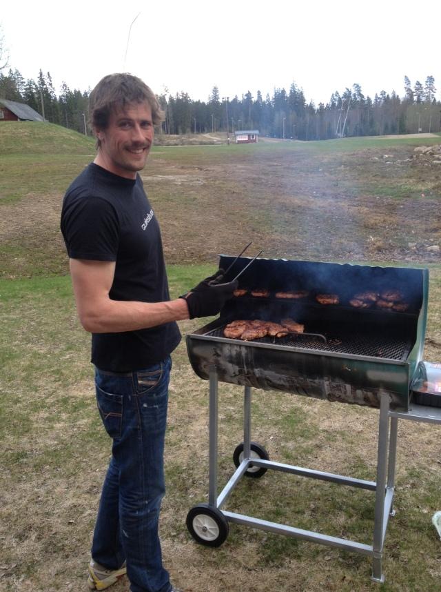 Erik von Essen, gårdagens Mr. BBQ