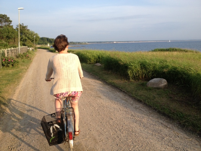 På väg mellan Vejbystrand och Havsbaden