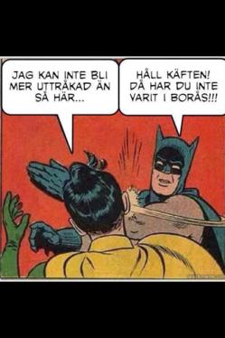 Idas syster Erika bor i Helsingborg och brukar reta mig för min lokalpatriotism. Denna bild messade hon till mig för ett tag sedan...