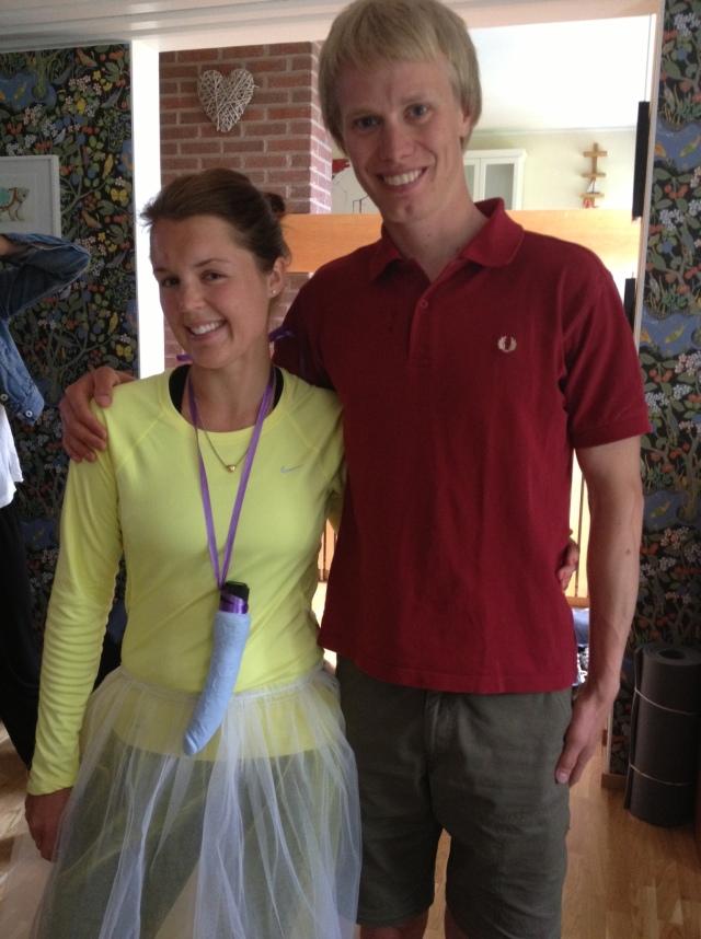 Madelene Hedin och jag