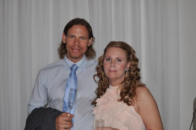 Z och Carola var inte de enda gästerna från Hedvigsborg, även Peter Algebäck med sin Anna fanns med i gemenskapen