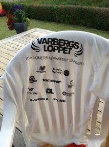 Jag vann återigen tröjtävlingen, det vill säga bästa löpare som hade arrangörens t-shirt
