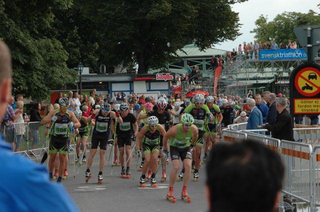 Herrstarten Jönköping Open Rollerski