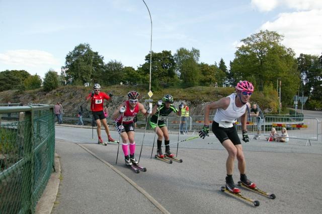 Erik Wickström i Alliansloppet. Foto: Kjell-Erik Kristiansen, sweski.com.