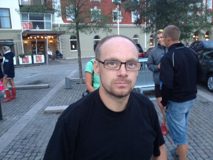 Pierre Björkli, publik, fotograf och skidnörd.