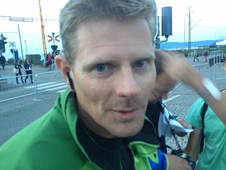 Martin Eckervad, tävlingsledare. Hatten av för ett fantastiskt jobb.