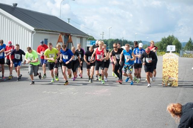 Bollebygdsloppet 2013 starten