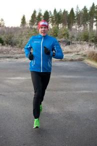 Conny Björnehall springer mot medaljtid i Vasaloppet