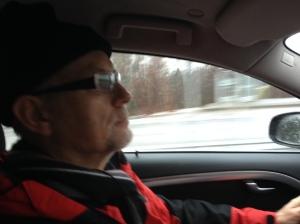 Min far Ulf Wickström var chaufför, mellantidstagare och reservstavshållare idag och fick betyget MVG.