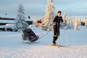 Med Charioten på Sjusjøen vid nyår