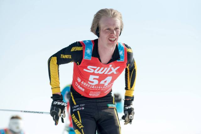 Erik Wickström i Årefjällsloppet 2014. Foto: Magnus Östh.