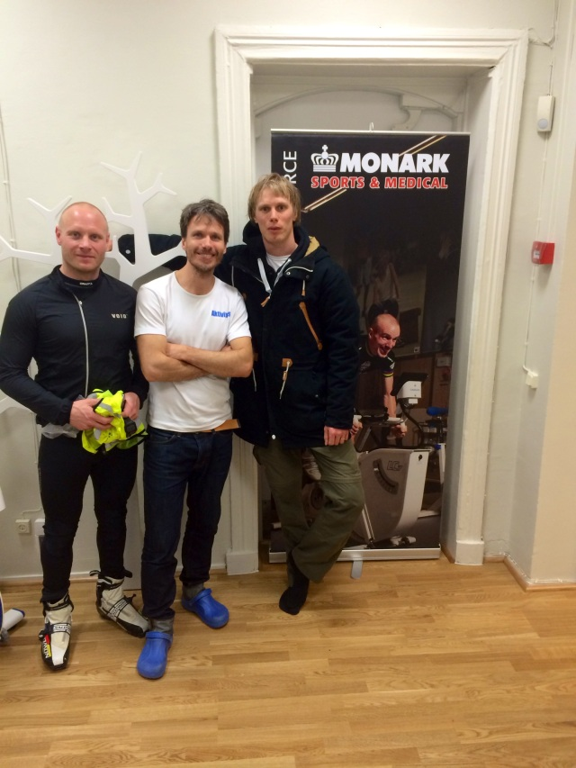 Inte dåligt att vara på samma bild som både Thor Kruse, Mattias Lundqvist och bloggkungen Henrik Öijer (roll-up:en)