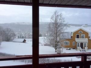 Jaja, det snöar i Duved.