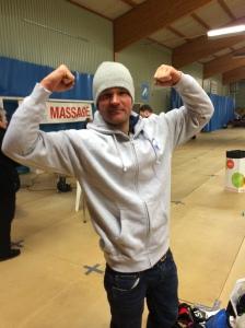 Øystein Pettersen tog OS-guld i teamsprint med Petter Northug 2010. I år kvalade han inte in till OS och fick stryk i långspurten av en skidåkare från Borås.