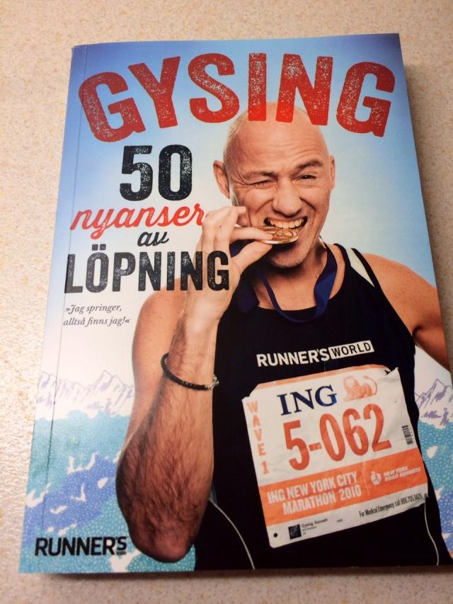 50 nyanser av löpning, ny bok av Kenneth Gysing