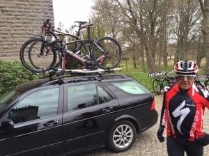 Rune Bäck är 72 år, vältränad och har en av Västgötaslättens fräschaste cykelparker. Jag vill vara Rune när jag är pensionär!