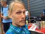 Olle Häggdahl blev 3:a på långa förra året, men ställde inte upp i år pga en ont fot