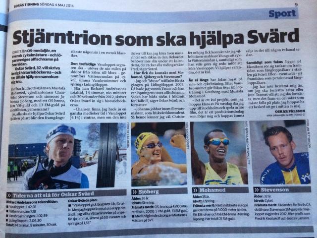 Oskar Svärd siktar på rekord i Klassikern