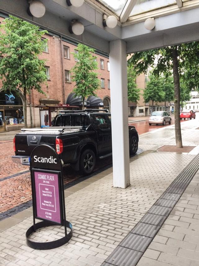 Colting hittar alltid egna parkeringsplatser så han slipper att gå så långt
