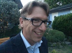 Se där ja! En trevlig boråsare jag inte träffat tidigare dök upp på festen! Kenneth Rolling är en skidfantast som bor i Halmstad.