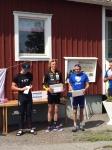 3:an Markus Ottosson, 2:an Erik Wickström och 1:an Dan Moberg